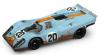 【ブルム】 1/43 ポルシェ 917K Scuderia JWA-Gulf 1970年ルマン #20  J.Siffert/B.Redman レース後仕様50th anniv [R493R]