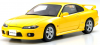 【OttO mobile オットーモビル】 1/18 日産 シルビア スペックR (S15)(イエロー)香港エクスクルーシブモデル [OTM005RT]