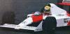 【ミニチャンプス】 1/43 マクラーレン ホンダ MP4/4B テストカー アイルトン・セナ 1988 ■レジン[547884399]