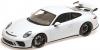 【ミニチャンプス】 1/18 ポルシェ 911 GT3 2017 ホワイトメタリック [110067032]※開閉機構あり