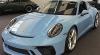 【ミニチャンプス】 1/18 ポルシェ 911 GT3 ツーリング 2018 ブルー [110067420]※開閉機構あり
