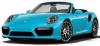 【ミニチャンプス】 1/43 ポルシェ 911 (991.2) ターボ S カブリオレ 2017 ブルー [410067182]