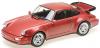 【ミニチャンプス】 1/18 ポルシェ 911 ターボ (964) 1990 レッドメタリック [155069102]※開閉機構なし
