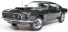 【アメリカンマッスル】 1/18 1969 フォード マスタング ハードトップ (MCACN) ブラックジェイド [AMM1152]