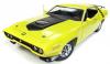 【アメリカンマッスル】 1/18 1971 プリムス ロードランナー ハードトップ(50th Anniversary)CY3 シトロンイエロー [AMM1158]