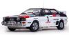 【サンスター】 1/18 アウディ クアトロ A1 1983年ラリー・ポルトガル 優勝  #3 H.Mikkola/A.Hertz [4229]