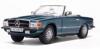 【サンスター】 1/18 メルセデス・ベンツ 350 SL オープン コンバーチブル 1977  シルバーブルー [4673]