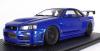 【イグニッションモデル】 1/18 Nismo R34 GT-R R-tune Bayside Blue  ★生産予定数:120pcs [IG1830]