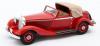 ◆【マトリックス】 1/43 メルセデス・ベンツ 500K DHC by Corsica 1935レッド オープン [MX41302-151]