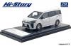 【ハイストーリー】  1/43 トヨタ ボクシー ハイブリッド ZS (2019)ホワイトパールクリスタルシャイン [HS238WH]