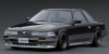 【イグニッションモデル】 1/43 トヨタ ソアラ (Z20) 2.0GT-TWIN TURBO L  Black/Silver ※BB-Wheel★生産予定数:100pcs [IG1857]