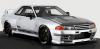 【イグニッションモデル】 1/18 TOP SECRET GT-R (VR32) Silver ★生産予定数:120pcs 43617[IG1525]