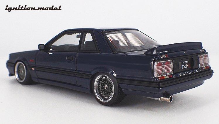 【イグニッションモデル】 1/43 日産 スカイライン GTS R (R31) 青黒 ★生産予定数:140pcs   [IG2088]