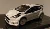 【モデルネット特注イクソ】 1/43 フォード フィエスタ R5 2015?ホワイト スペアホイールセット付 [MDCS016]