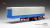 【イクソ】 1/43 トラック トレーラー キャンバスカバー グレー/ブルー[TRL001]