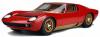 【京商】 1/12 ランボルギーニ ミウラ P400S(レッド) 世界限定: 350個 [KSR12501R]