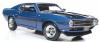 <img class='new_mark_img1' src='https://img.shop-pro.jp/img/new/icons15.gif' style='border:none;display:inline;margin:0px;padding:0px;width:auto;' />【アメリカンマッスル】 1/18 1969 シェルビー マスタング Fastback (50th Anniversary) アカプルコ ブルー *開閉機構あり[AMM1188]