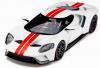 【GTスピリット】 1/18 フォード GT(ホワイト/レッドストライプ)         世界限定数:1,500個 [GTS097]