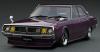 <img class='new_mark_img1' src='https://img.shop-pro.jp/img/new/icons15.gif' style='border:none;display:inline;margin:0px;padding:0px;width:auto;' />(予約)【イグニッションモデル】 1/18 日産 スカイライン 2000 GT-X (GC110) Purple  ★生産予定数:120pcs [IG1983]
