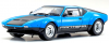 【京商】 1/18 デ・トマソ パンテーラ GT4 ブルー/ブラック [KS08853BL]