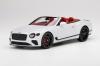 【トップスピード】  1/18 ベントレー コンチネンタル GT コンバーチブル  アイス [TS0291]