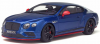 <img class='new_mark_img1' src='https://img.shop-pro.jp/img/new/icons15.gif' style='border:none;display:inline;margin:0px;padding:0px;width:auto;' />【GTスピリット】 1/18 ベントレー コンチネンタル GT スピード ブラックエディション (ブルー) ■少量再入荷[GTS006KJ]