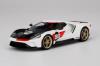 【トップスピード】  1/18 フォード GT 2021 ヘリテージエディション [TS0317]