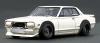 【イグニッションモデル】 1/43 日産 スカイライン 2000 GT-R (KPGC10)STAR ROAD   White  ★生産予定数:100pcs  [IG1912]