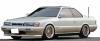 【イグニッションモデル】 1/43 日産 レパード (F31) Ultima V30ツインカムターボ White/Gold ※BB-Wheel ★生産予定数:160pcs  [IG1568]