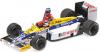 【ミニチャンプス】 1/43 ウィリアムズ ホンダ FW11 ケケ・ロズベルグ ドイツGP 1986 ライド オン ネルソン・ピケ フィギュア付 [410860106]