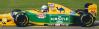 ■【ミニチャンプス】 1/43 ベネトン フォード B193B リカルド・パトレーゼ イギリスGP 1993 3位入賞 ■レジン[417930006]