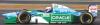 ■【ミニチャンプス】 1/43 ベネトン フォード B194 ヨス・フェルスタッペン イギリスGP 1994 ■レジン[417940806]