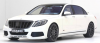 【ミニチャンプス】 1/43 マイバッハ ブラバス 900 AUF BASIS メルセデス ベンツ マイバッハ S 600 2016 ホワイト [437035421]