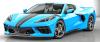 【GTスピリット】 1/18 シボレー コルベット C8 (ブルー)*開閉機構なし [GTS286]