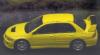 (予約)【onemodel】 1/64 三菱 ランサーエボリューション EVO IX Yellow[64D01-01]