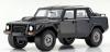 ■【京商】 1/18 ランボルギーニ LM002(ブラック) [KSR18508BK]