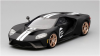【TSM】  1/43 フォード GT ヘリテージエディション  マットブラック/ホワイトストライプ [TSM430136]