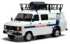 【イクソ】 1/18 フォード トランジット MK II 1979 ラリーアシスタントカー