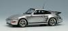 【ヴィジョン】 1/43 ポルシェ 911(964) ターボ S エクスクルーシブ フラットノーズ 1994(日本仕様) シルバー (ブラックインテリア)  [VM161A]