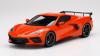 【トップスピード】 1/18 シボレー コルベット スティングレイ 2020 ハイウィング セブリング オレンジ ティントコート  [TS0285]