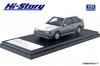【ハイストーリー】  1/43 マツダ ファミリア フルタイム 4WD GT-X (1985)  ドーバーホワイト/ラスターシルバーM [HS261WH]