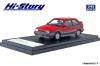 【ハイストーリー】  1/43 マツダ ファミリア フルタイム 4WD GT-X (1985)  ピュアレッド/ラスターシルバーM [HS261RE]