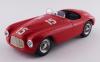 【アートモデル】  1/43 フェラーリ 166 MM バルケッタ ルクセンブルクGP,Findel 1949#1Luigi Villoresi シャーシNo.0016優勝車 [ART400]