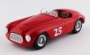 【アートモデル】  1/43 フェラーリ 166 ツーリング バルケッタ パームスプリングス 1951 #25 M.Lewis 優勝車 [ART404]