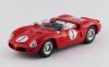 【アートモデル】 1/43 フェラーリ 246 SP デイトナ3時間 1962 #1 Hill/Rodriguez シャーシNo.0796 RR:2nd  [ART371]
