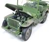 ■【アメリカンマッスル】 1/18 1941 Jeep Willy 第二次世界大戦 ウェザリング塗装(オリーブドラブ) [AWML005B]