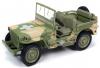 【アメリカンマッスル】 1/18 1941 Jeep Willy 陸軍医療車(カモフラージュ) [AWML005A]