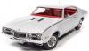 ■【アメリカンマッスル】 1/18 1968 Oldsmpbile Cutlass S W31 (MCACN)(ホワイト) [AMM1208]