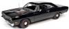 ■【アメリカンマッスル】 1/18 1969 プリムス ロードランナー(Hemmings Muscle Machine) X-9 タキシードブラック [AMM1213]