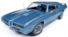 【アメリカンマッスル】 1/18 1969 ポンティアック GTO ジャッジ (MCACN)ウォーウィックブルー [AMM1171]